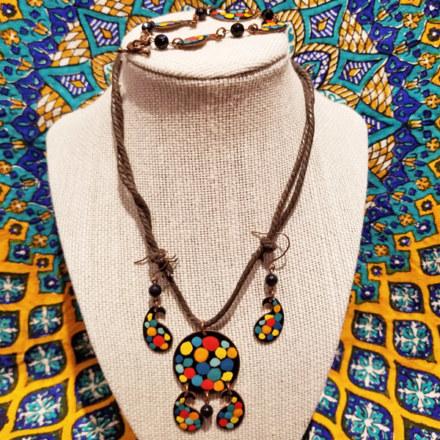 Jewelry Set with Stones